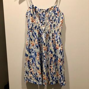 Express mix color sundress